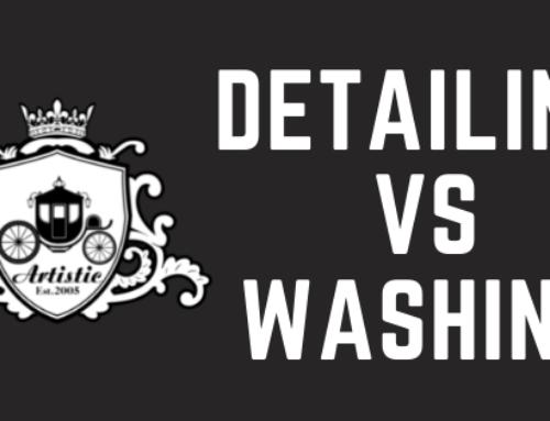Detailing vs Washing