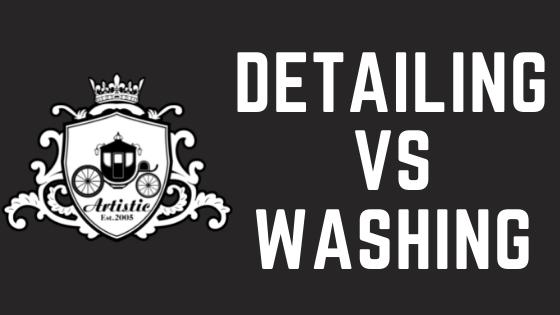Detailing Vs Washing Blog Cover