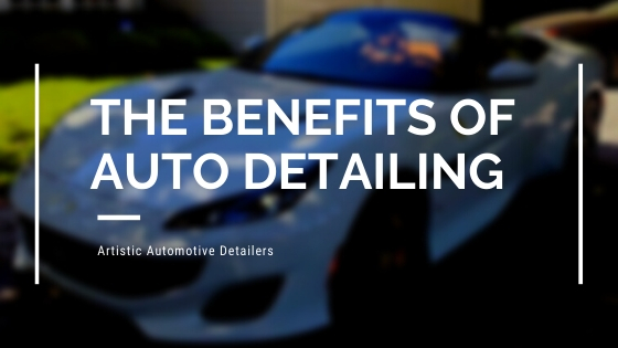 The Benefits of Auto Detailing Blog Cover